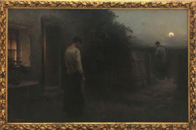 """Last Rites"" (1897). Jakub Schikaneder. Oil on canvas."
